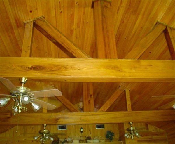 Cypress Beaded Ceiling