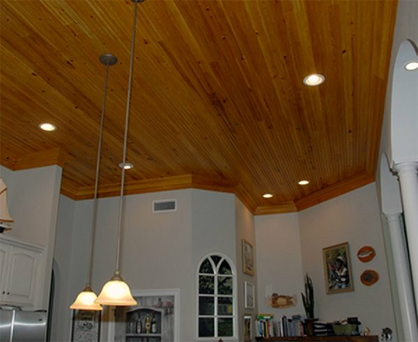 Cypress Beaded Ceiling
